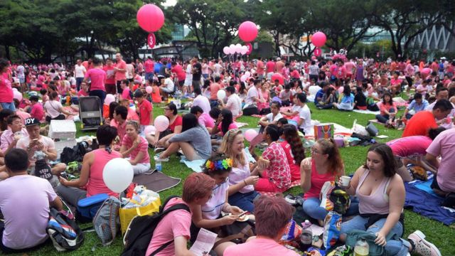 Singapore LGBT rally says 'no choice' but to bar outsiders