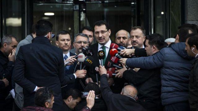 AKP Genel Başkan Yardimcısı Ali İhsan Yavuz, 'organize usulsüzlük' olduğunu bildiriyor