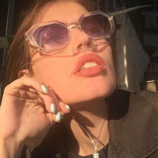 Claire Wineland em foto na sua conta no Instagram