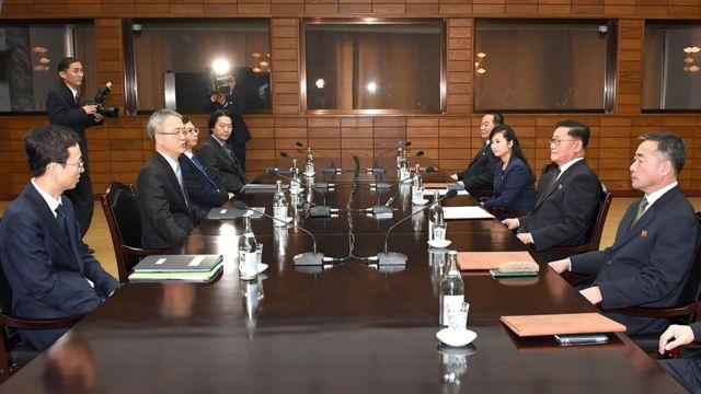 韩朝代表于板门店对话(15/1/2018)