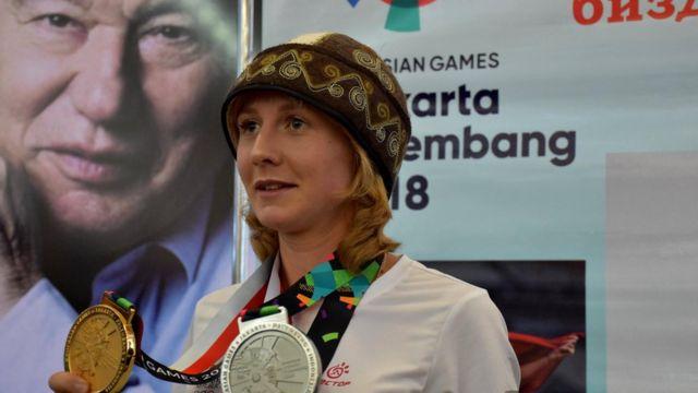 Жеңил атлетчи Дарья Маслова