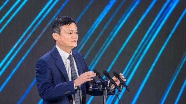 Jack Ma đồng sáng lập của Ant Group và Alibaba.