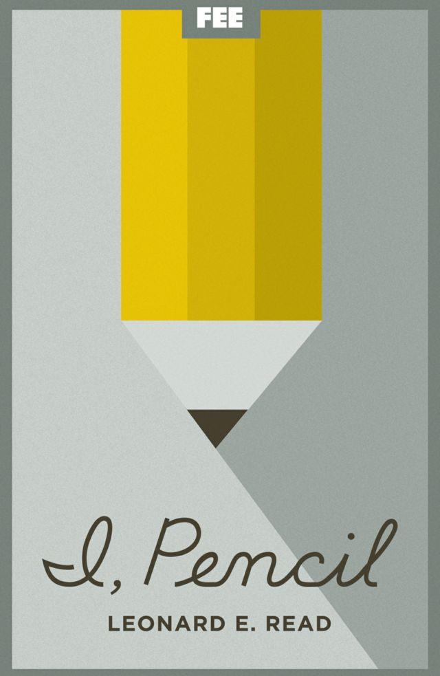 """La portada de la versión para Kindle de """"Yo, lápiz"""", del economista estadounidense Leonard Read."""