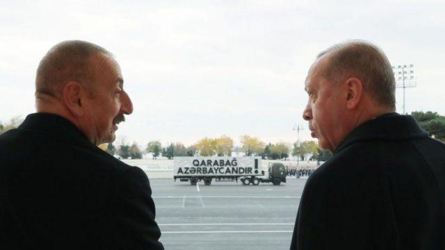 اردوغان در باکو