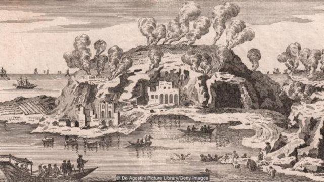 Air mineral dan iklim yang sejuk memebuat orang-orang ningrat Roma tertarik berkunjung ke Baia