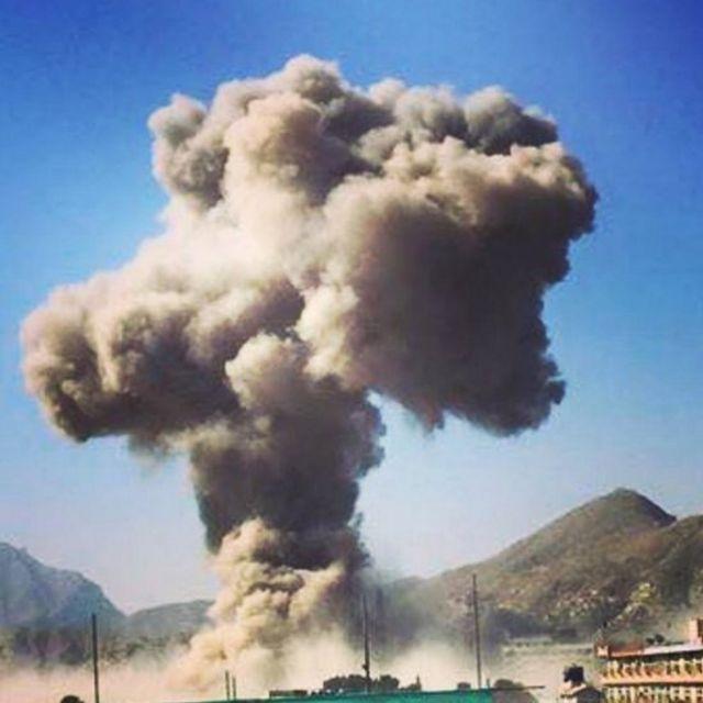 محل حمله کابل