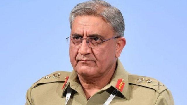 پاکستانی فوج کے سربراہ جنرل باجوہ