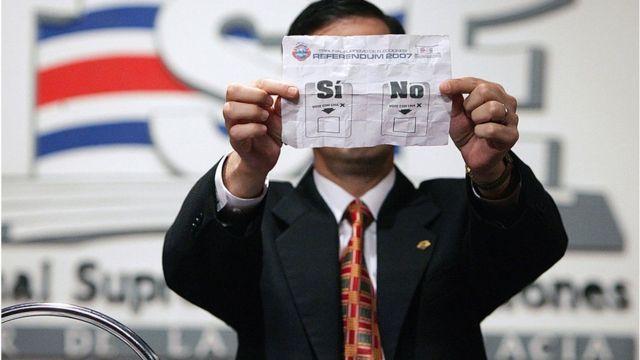 Sí o no?: 5 referendos, plebiscitos y consultas que han hecho historia en América Latina - BBC News Mundo