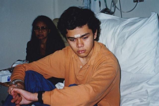 Мартину было всего 14 лет, когда у него обнаружили опухоль мозга