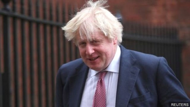 Ngoại trưởng Anh, Boris Johnso