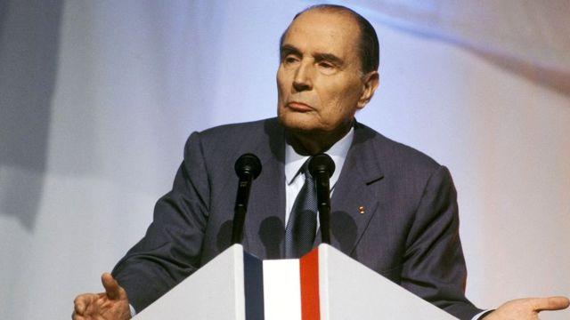 François Mitterrand wayoboye Ubufaransa (1981- 1995)