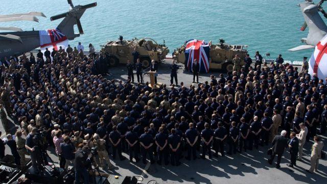 پایگاه دریایی بریتانیا در بحرین