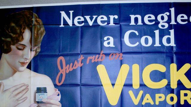 Aviso comercial de Vicks VapoRub
