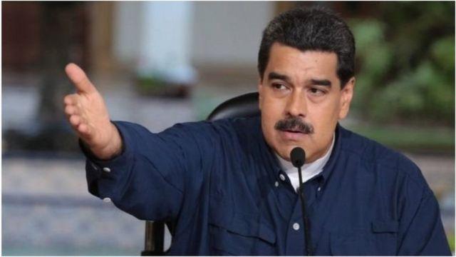 Rais Nicolas Maduro, anayelalamikiwa na Marekani