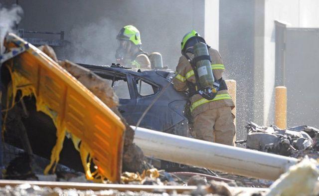 От пламени пострадали несколько автомобилей