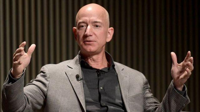 Jeff Bezos fundador de Amazon.
