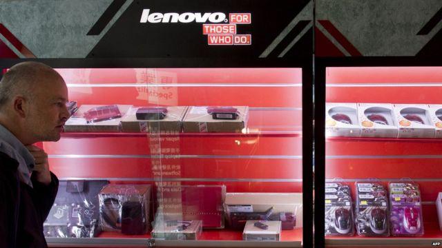 Lenovo shares fall 10% on poor quarterly revenues