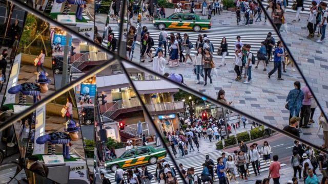أحد شوارع اليابان