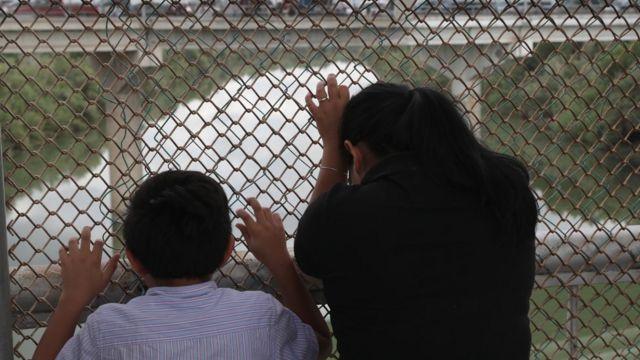 Frontera entre Estados Unidos y México en Texas