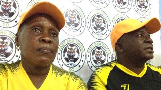 Mkufunzi wa East End Tigers Victoria Conteh