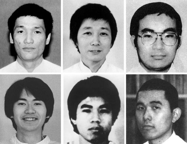 Seis de los miembros de Aum Shinrikyo ejecutados en 2018