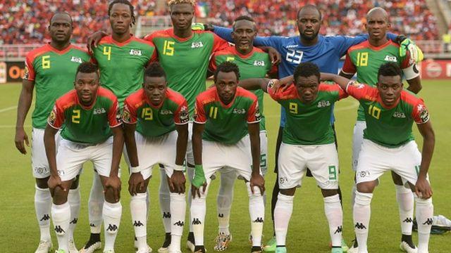 L'équipe des Etalons du Burkina Faso