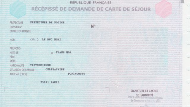 Thẻ của Pháp