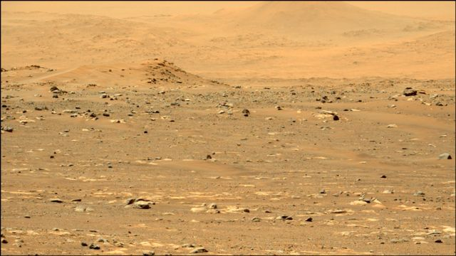 View of Mars.