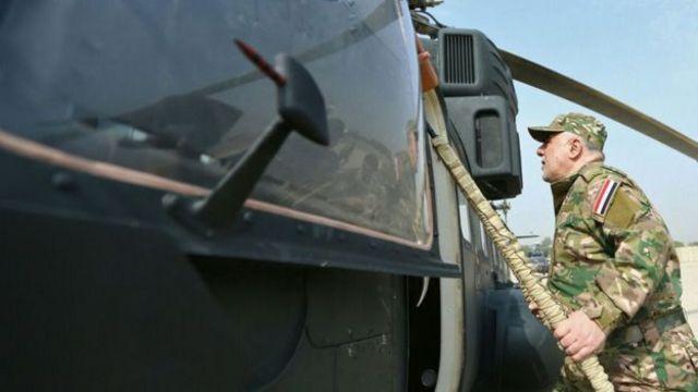والعبادي هو القائد العام للقوات المسلحة العراقية