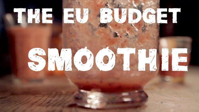 EU budget smoothie