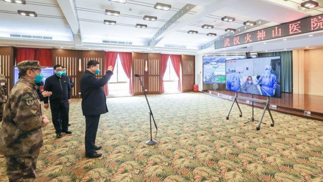 Визит председателя Си в Ухань