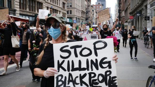 နယူးယောက်က ဆန္ဒပြပွဲတစ်ခု