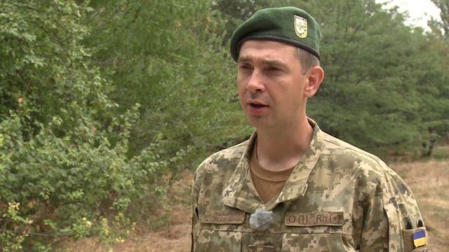 Иван Шевцов, замначальника херсонского погранотряда
