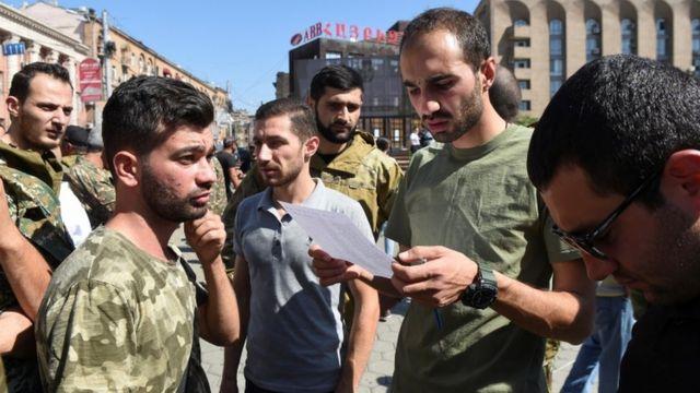 أعلنت أرمينيا التعبئة العسكرية الشاملة