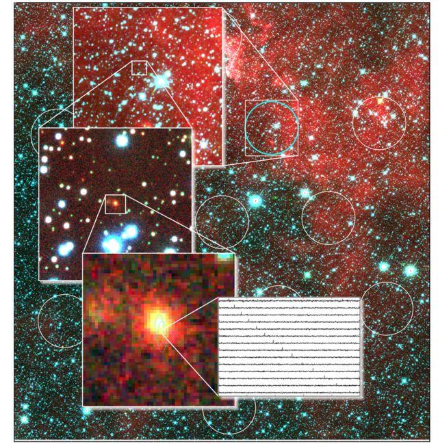 Radio flash tracked to faraway galaxy