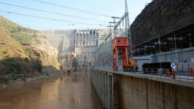 """Une partie de l'énergie générée par le barrage """"Gibe III"""" sera notamment exportée vers le Kenya"""