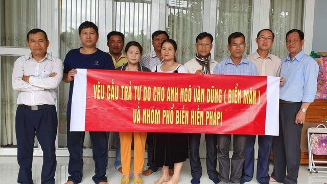 Gia đình và người ủng hộ Facebooker Ngô Văn Dũng yêu cầu trả tự do cho ông