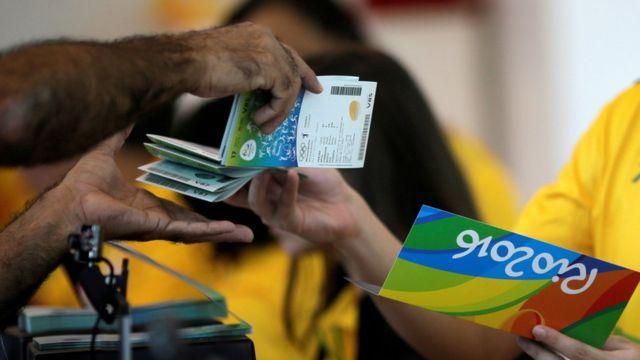 Boletería para las Olimpíadas de Río
