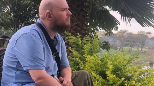 Tony Giles na Etiópia