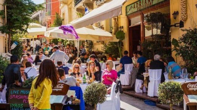 街道,餐馆