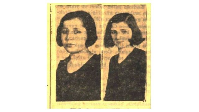 Türkiye'de mühendislik okuyan ilk kadınlar Melek Hanım (solda) ve Sabiha Hanım.