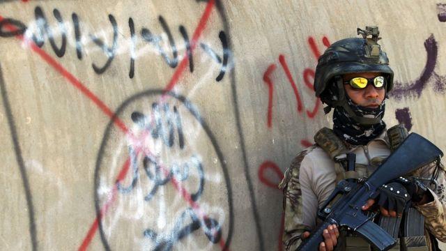 جندي عراقي بالأنبار