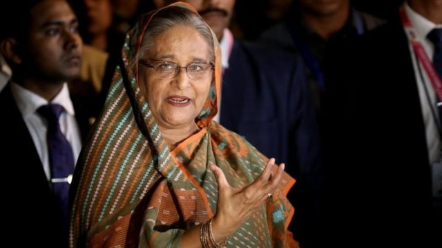बांग्लादेश की प्रधानम्त्री सेख़ हसीना