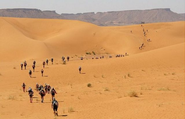 Marathon des sables in 2008