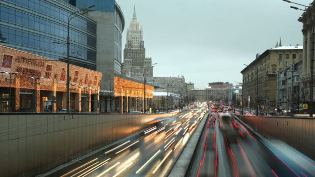 Москва дороги