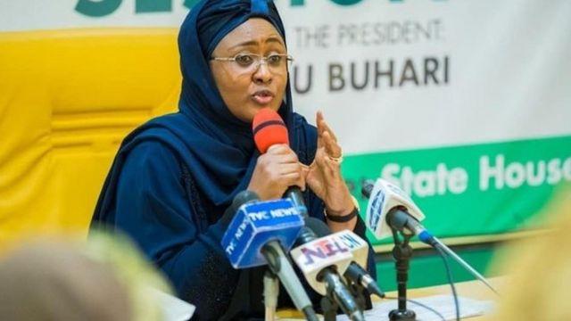 Aisha Buhari aya Aare Nigeria