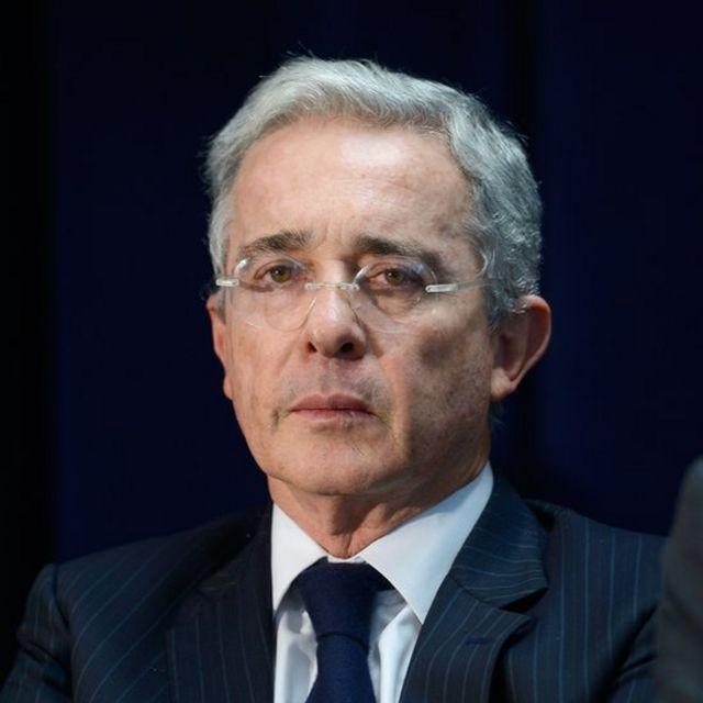Expresidente Álvaro Uribe
