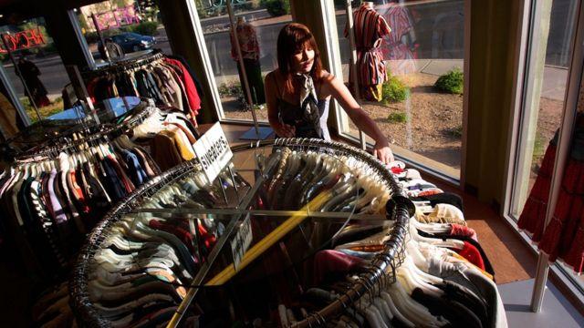 Cadena de ropa usada Buffalo Exchange.