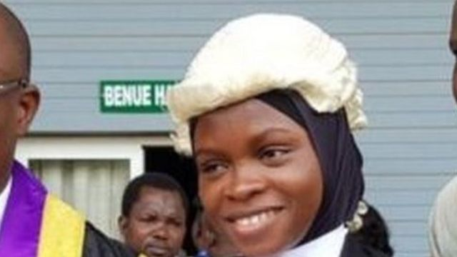 Nigerian law student allowed to wear hijab at graduation ceremony