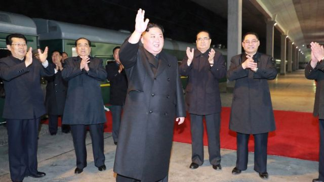 မြောက်ကိုရီးယားခေါင်းဆောင် ကင်ဂျုံအွန်း ရုရှားနိုင်ငံခရီးစတင်
